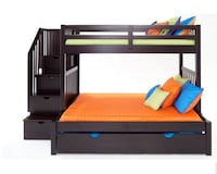 Bob's Full/Twin Bunk Beds/ Storage(extra bed) Plus Twin Ikea Mattress Only  Suitland, 20746