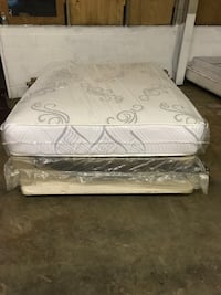 Brand New (Queen Size) 10inch Thick Plush Cushion Firm Mattress Set  Chesapeake, 23323