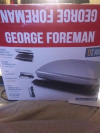 George Foreman Grill & Panini 9 servings. (obo)
