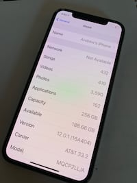 iPhone X (barely used) CAPITOLHEIGHTS