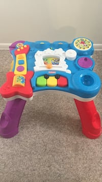 blue, red, white and yellow musical toy Poolesville, 20837