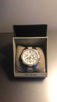 Men's crystal accented watch. Less than a year old and barely worn   Lumberton, 08048