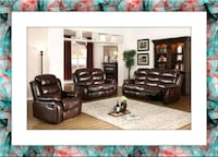 Burgundy recliner Sofa and Loveseat  Elkridge, 21075