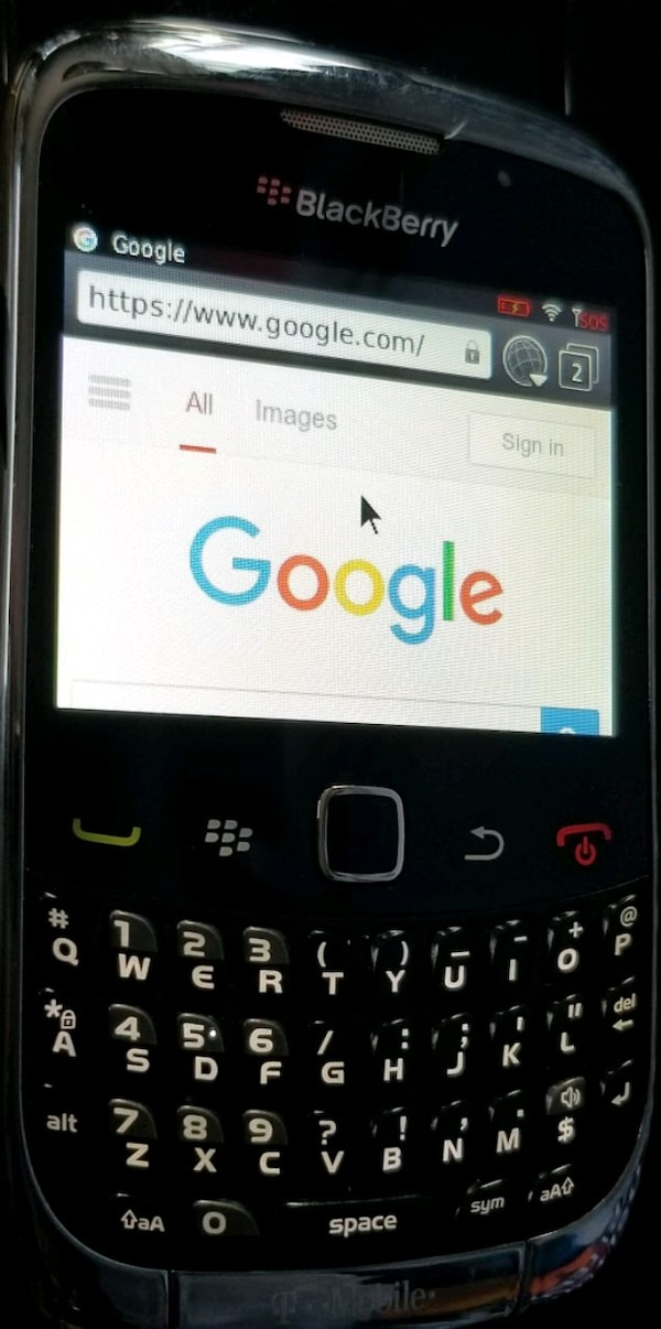 BlackBerry Curve 3