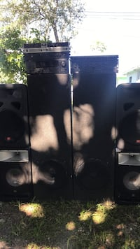 Black sound system must sell today