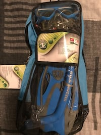 Never Used Youth Snorkel Gear (Fits Sm/Med Faces) Brampton, L7A 3L8