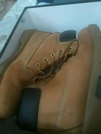 pair of brown Timberland work boots Garland County, 71901