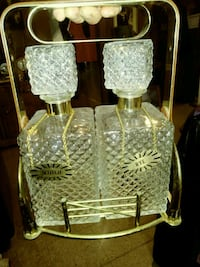 ANTIQUE CRYSTAL DRING CARRIER Pawtucket, 02861