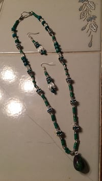 Turquoise  beaded necklace Fort Worth, 76103