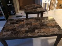 Two end tables and coffee tables  288 mi