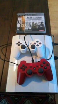 PS3 500gb/ Two Controllers / GTA V Clayton, 27527
