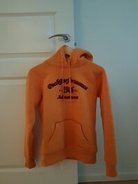 Orange Peak Performances Pullover Hoodie