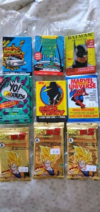 Vintage unopened card packs. 1 pack. All for $12 The Bronx, 10461