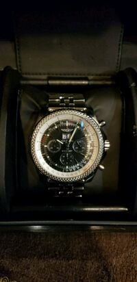 Breitling Bentley 6.75 Stainless Men's Watch Land O' Lakes