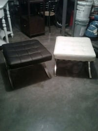 black and white leather sofa Hagerstown