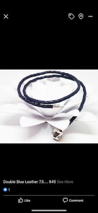 Double navy blue pandora leather Brampton, L6V 3C5