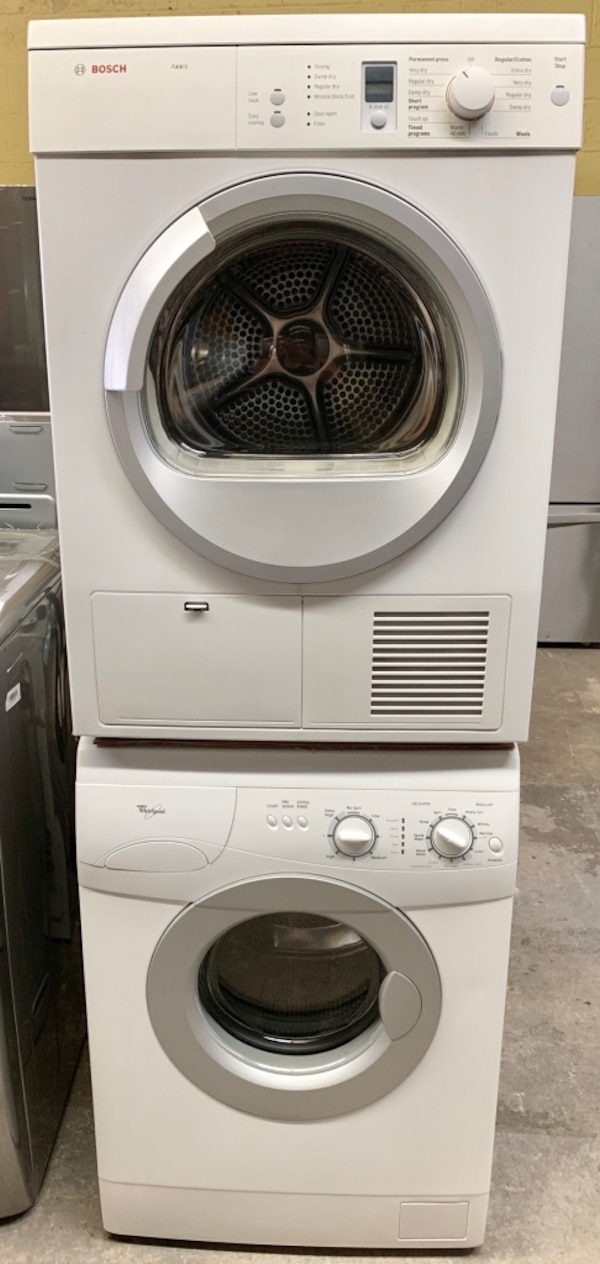 "24"" Washer+Ventless Dryer Stackable Apartment Size*FINANCE AVAILABLE*"