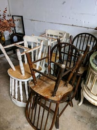 60 for all 6 chairs. Various condition Asheville, 28806