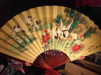 Hand made decorative fan Rosamond, 93560