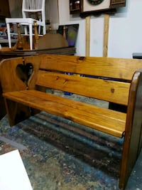 Hand crafted country style bench Newport News, 23602