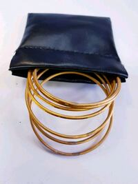 Black pouch for jewellery