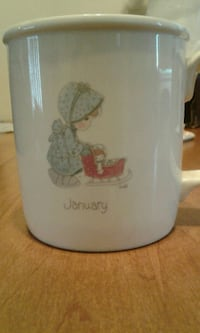 January Precious Moments Tea Cup! Never been used!