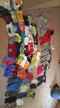 assorted-color clothes lot Wisconsin Rapids, 54494