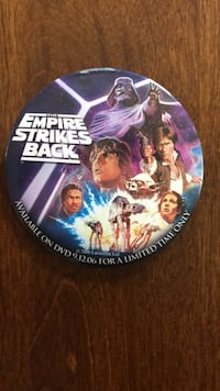 "EMPIRE STRIKES BACK 3"" pin"