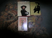 Four(4) Books on General George Armstrong Custer Springfield