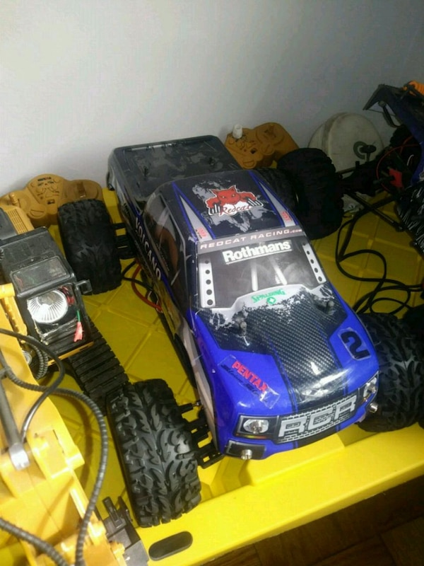 Used Blue And Red Rc Monster Truck For Sale In Brooklyn Letgo