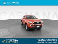 2017 Toyota Tacoma Double Cab pickup SR5 Pickup 4D 5 ft Orange <br Petersburg