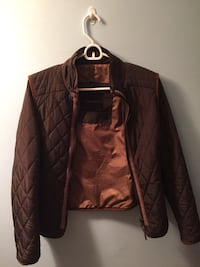 Zara dark green quilted jacket small Vancouver, V6G 3J7