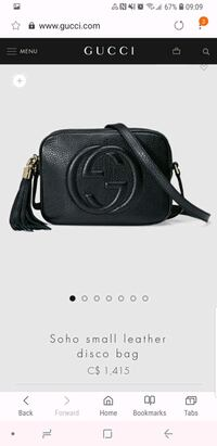 Gucci leather Soho bag Montreal, H3W 1H1