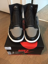 "Jordan Retro 1 ""Shadow"" size 12 DS  Fairfax, 22030"