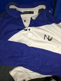 Blue & white Nautica Sweater $25 OBO Size XL