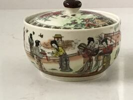 Chinoiserie Procelain Trinket Container