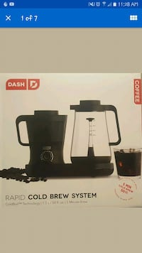 *New* Dash Rapid Cold Brew system Coffee Maker  Irving, 75063