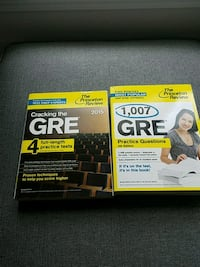 Unused GRE study guides Arlington, 22202