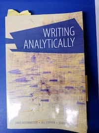 (Used) Writing Analytically Natick, 01760