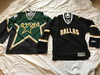 2 Dallas Stars Jerseys.