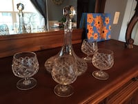 Crystal Decanter and Glasses Woodbridge, 22193