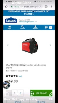 black and red Milwaukee cordless impact wrench screenshot Portland, 97236