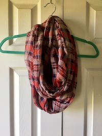 Red Plaid Infinity Scarf Centreville, 20120