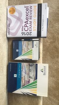 CPA Prep books and DVD Vienna, 22181