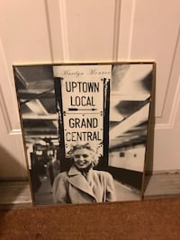 Framed posters $1.00 each White Tiger, and Marylin Monroe Sussex