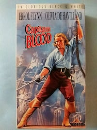 Captain Blood vhs