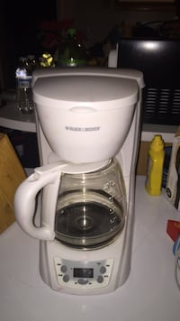 white Black & Decker coffeemaker Greensboro, 27409