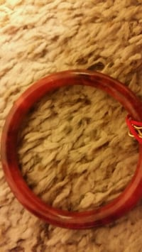red and black coated cable
