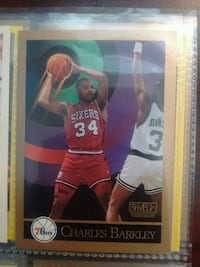 Charles Barkley NBA trading card