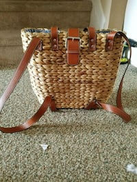 Wicker handbag/backpack Thurmont, 21788
